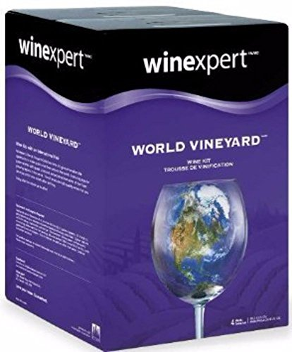 Winexpert HOZQ8-1622 World Vineyard Australian Grenache/Shiraz/Mourvedre with Grape Skins, (Australian Shiraz Wine)