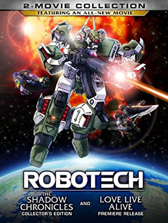 Amazon com: Robotech: 2-Movie Collection [DVD]: Mark Hamill, Kari