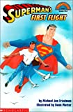 img - for Superman's First Flight (Hello Reader! Level 3) book / textbook / text book