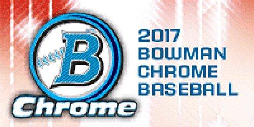 2017 Bowman Chrome Baseball Hobby Box - 12 packs of 5 cards