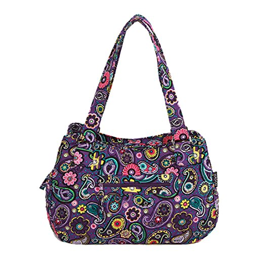 Quilted Hipster Handbag Purse - 7