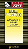 Find It Fast Bible Promises, Thomas Nelson Publishing Staff and Nelson Reference Staff, 0785247556