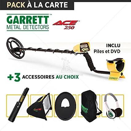 Detector de metales Garrett Ace 250: 3 accesorios opcionales