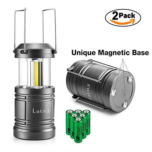 2PACK Lantern Flashlight Batteries Collapsible product image