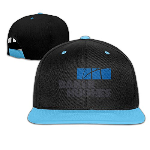 Contrast Grunge Baker Hughes Logo Snapback Baseball Hat Kids Royalblue