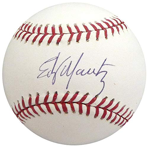 Edgar Martinez Autographed Signed Memorabilia Official MLB Baseball Seattle Mariners Mcs Holo #51273 - Certified - Baseball Martinez Autographed Mlb