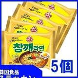 【ごまラーメン 5個】オトギ/韓国食品/一番 安い/ごま/韓国ラーメン/韓国食材/大人気 ラーメン/インスタントラーメン