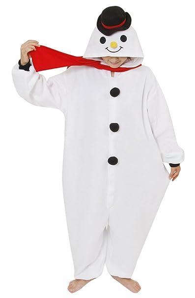 Gillbro animado animal adulto del traje de Cosplay de los pijamas, muñeco de nieve,
