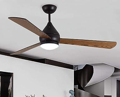 Ventilador de techo moderno 52\ / 132 cm, con lámpara de techo y ...