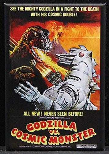 Godzilla Vs. Cosmic Monster Refrigerator Magnet. (Godzilla Magnet)