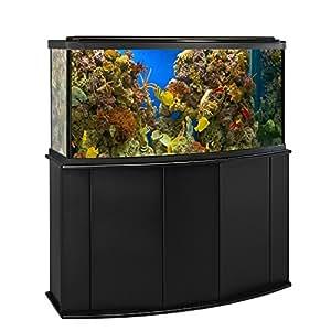 Amazon Com Aquatic Fundamentals 72 Gallon Bowfront Aquarium Stand