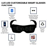LUX LED Glasses are Bluetooth Sunglasses for