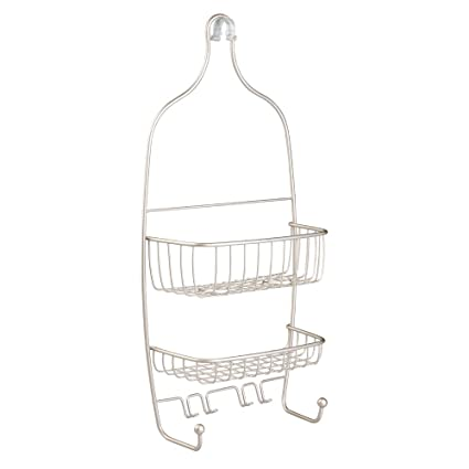 Amazon.com: InterDesign Raphael Hanging Shower Caddy – Bathroom ...