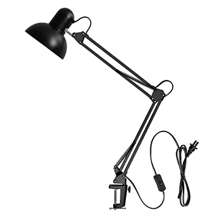 Exceptionnel Amazon.com: Carry360 Desk Lamp,Clamp Desk Lamp,Swing Arm Desk Lamp With  Clamp,Multi Joint Metal Clamp For Home/Office/Studio, Black Finish: Home U0026  Kitchen