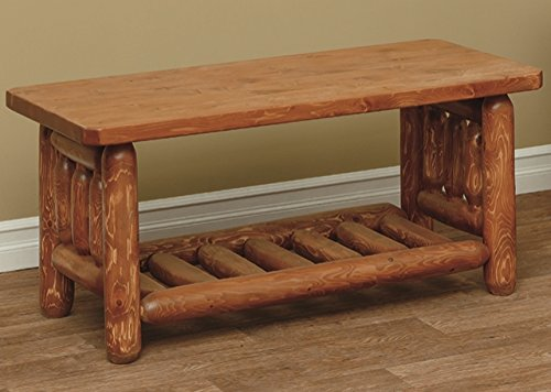 (White Cedar Classic Mission Coffee Table*Unfinished*)