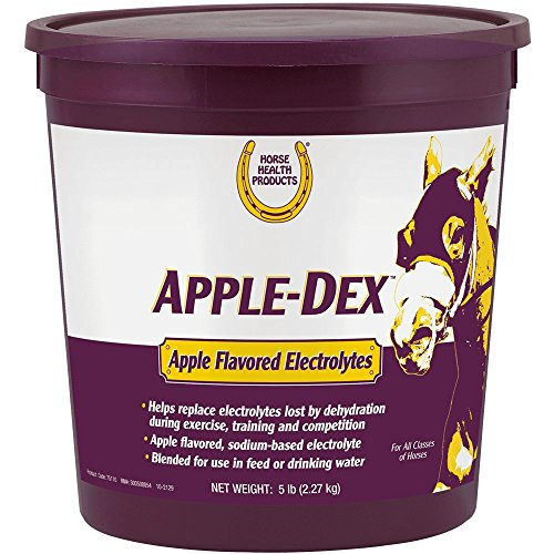 Horse Health Apple-Dex Apple Flavored Electrolytes, 5 lb ()