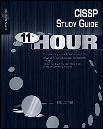 Cissp study guide second edition.