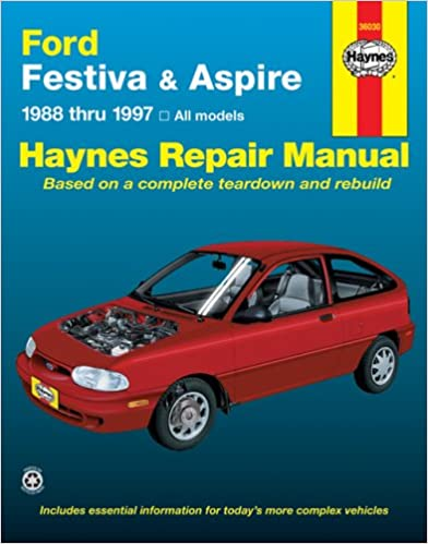 Ford festiva and aspire 1988 1997 haynes manuals haynes ford festiva and aspire 1988 1997 haynes manuals 1st edition fandeluxe Images