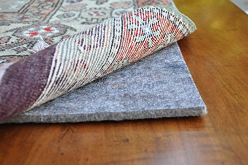 Eco Plush 3/8'' Felt Rug Pad by Rug Pad USA, Preserve & Protect, Cushioned Rug Padding SAFE FOR ALL FLOORS - 20 YEAR WARRANTY (8x11) by Rug Pad USA