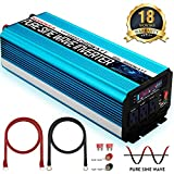 SUDOKEJI 1500W Pure Sine Wave Power Inverter Peak Power 3000W 12V DC to