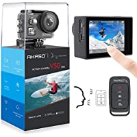 AKASO V50 Elite 4K/60fps Touch Screen WiFi Action Camera...