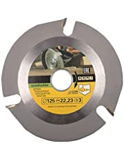 Eyech 3 Teeth Shaping Wood Cutting/Carving/Working Disc Speed Cutter Woodworking Blade for Angle Grinder