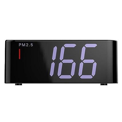 LDRAGON Monitor de Calidad de Aire de Mano de Gas PM 2.5 Detector, analizador de Gas ...