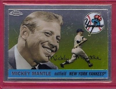 2007 Topps Chrome Mickey Mantle Story #MMS54 Mickey Mantle