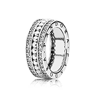 Amazon.com: Pandora Ring-52 Women 190962CZ Always Pandora