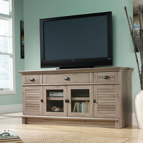 Sauder 415373 Salt Oak Finish Harbor View Credenza