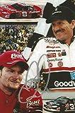 Dale Earnhardt Sr. Autographed Photograph - Sr & Jr BUDWEISER GOODWRENCH 4x6 #1 - Autographed Photos