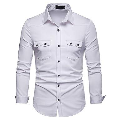 Men Shirt Ihengh Homme Longue Lattice Grande Manche T Peinture xvgqwCgX
