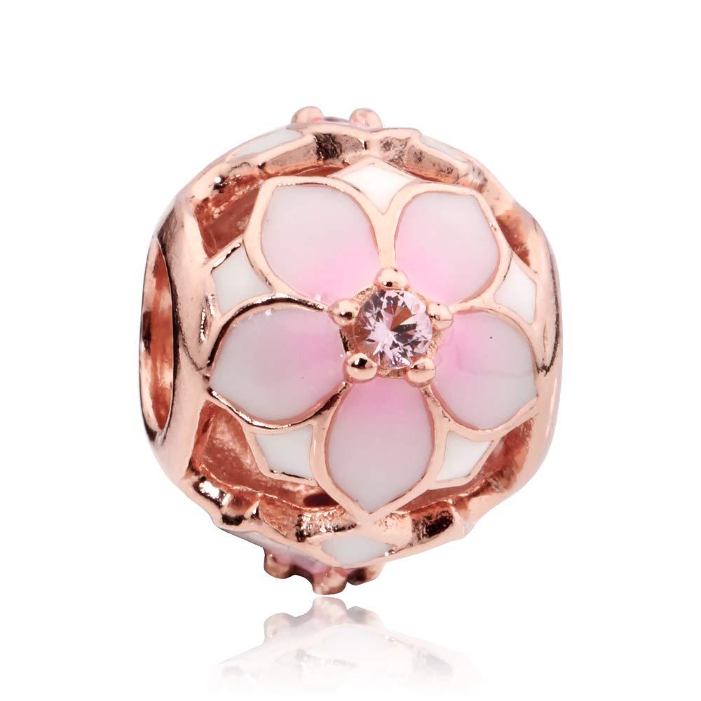 Pandora Rose Magnolia Bloom Charm 782087NBP