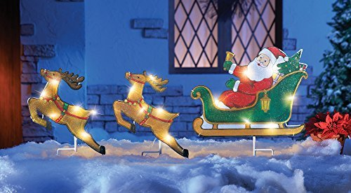 Nativity Lighted Outdoor Christmas Decoration - 7