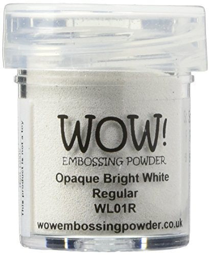 Wow Embossing Powder 15ml-Opaque Bright White