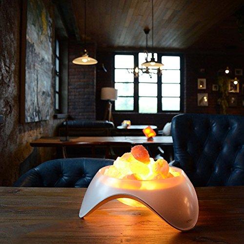 Do Himalayan Salt Lamps Leak Water : LIFE Home Serenity Himalayan Salt LED Lamp, Natural Crystal Air Purifier and New eBay