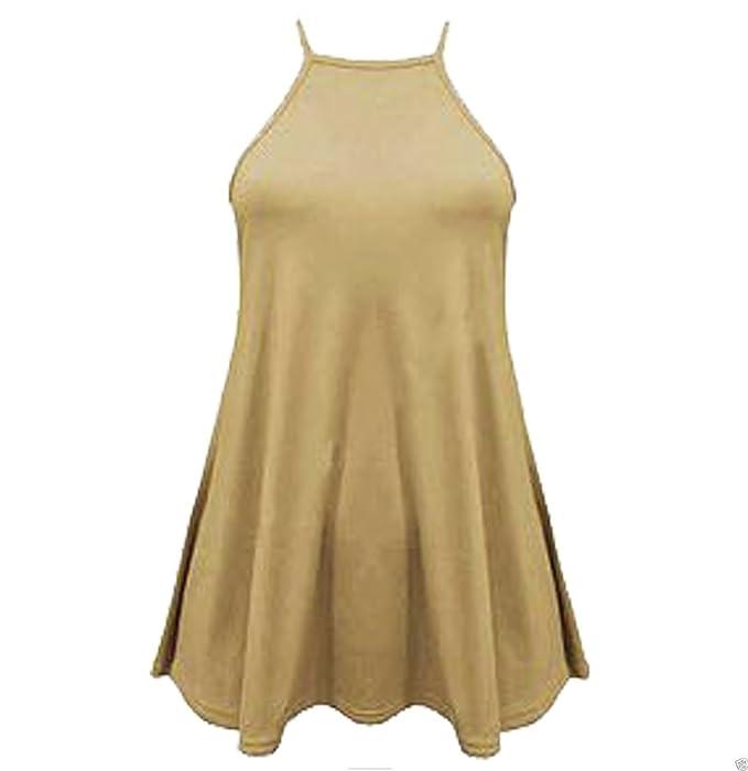 Home ware outlet Camiseta sin Mangas - para Mujer Negro Marrón Claro Talla S/M