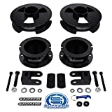 Supreme Suspensions - NEW Ram 2500 4WD Full 2.5'' Front + 1.5'' Rear Lift Kit High-Strength Carbon Steel Spring Spacers + Shock Relocation Brackets