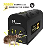 Best Electric Mouse Traps - P PURNEAT Electric Rat Trap and Mouse,Chipmunk Rodent Review