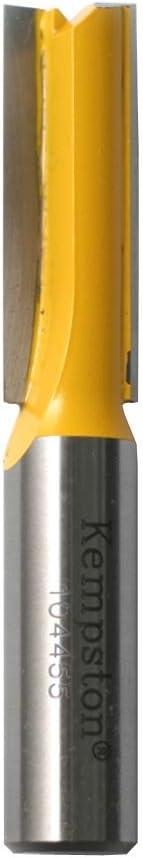 Kempston 1044131 Straight Bit 1-1//2-Inch Cutting Diameter by 1-1//4-Inch Cutting Length 1//2-Inch Shank