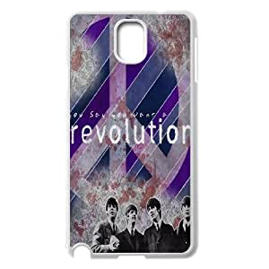 C-EUR Customized Print The Beatles Hard Skin Case Compatible For Samsung Galaxy Note 3 N9000