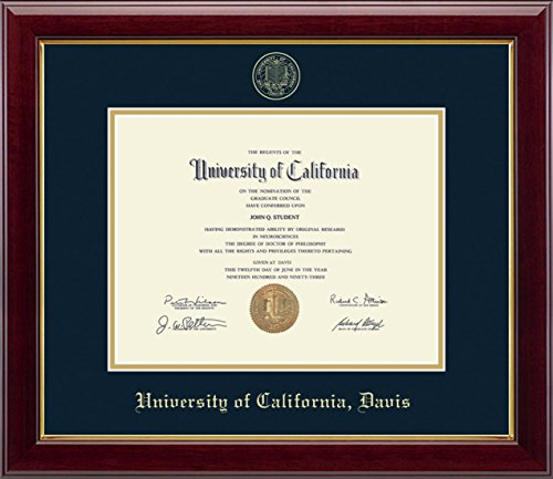 ed Diploma Frame - Features Solid Hardwood