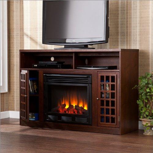 Southern Enterprises Astoria Media Electric Fireplace