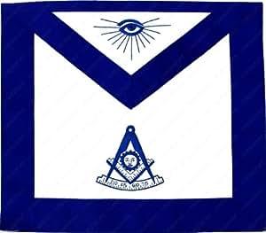 Amazon Com Masonic Past Master Apron For The Freemason