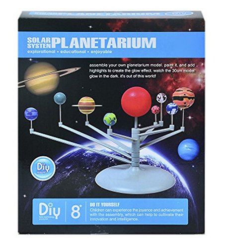 (VIPAMZ Solar System Planetarium DIY Model Kids Astronomical Science Kits)