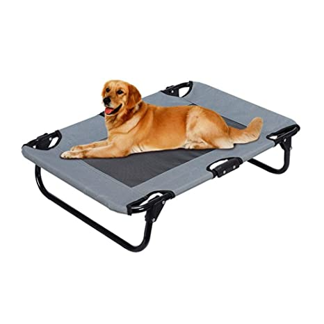 aheadad Cama Plegable para Mascotas Cama Plegable de Viaje para Mascotas Gato Perro Cojín Interior Exterior