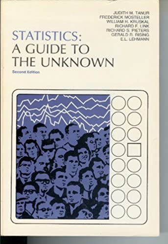 statistics a guide to the unknown holden day series in probability rh amazon com statistics a guide to the unknown free download statistics a guide to the unknown free download