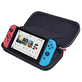 Officially Licensed Nintendo Switch Game Traveler Deluxe Travel Case with Adustable Viewing Stand - Titanium