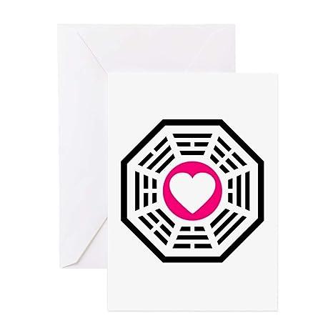 Amazon Com Cafepress Dharma Love 2 Greeting Card Note