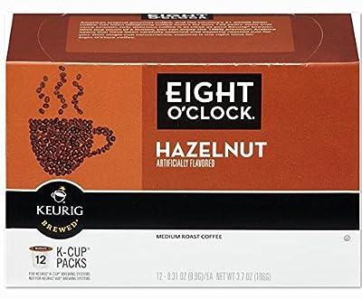 Eight O'clock Keurig Hazelnut Coffee, 12 ct